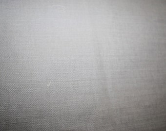 Soft Cotton Fabric Grey Upholstery Tailoring Home Decor 144 x 75 cm Arts & Craft