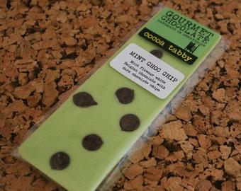 Mint Choc Chip - White Chocolate Bar