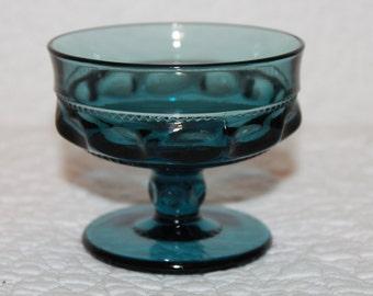 F1 One (1) Indiana Glass Kings Crown Sherbert Blue Glass Tiara