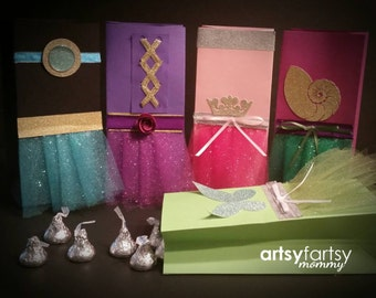 Princess Party - Princess Goodie Bags - Princess Bags - 10ct.