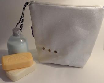 -Toilet bag - makeup - leatherette Kit