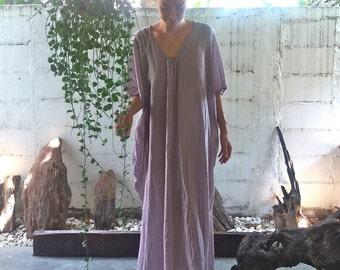 Beach Kaftan Dress Dream Lavender/Oversize Kaftan/Beach Cover Up/Kaftan/Beach Kaftan/Caftan/Maxi Dress/Boho Dress/Nightgown/Resort Dress
