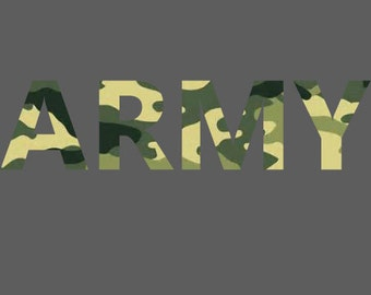 ARMY, Car , Wall , Decal