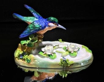 CROWN STAFFORDSHIRE Porcelain #4 Kingfisher J. T. Jones Designed