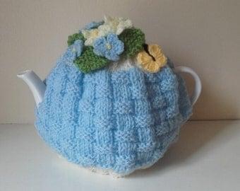 Knitted tea cosy ,small tea cosy, cake tea cosy, tea cosy, medium tea cosy, ready to ship