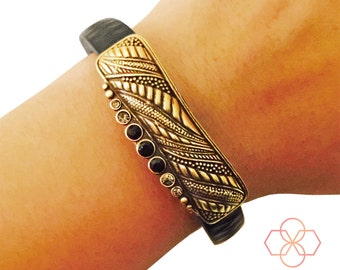 50% OFF! Charm to AccessorizeXiaomi Mi Tracker - The ALANA Rhinestone Charm in Gold to Dress Up Your Favorite Fitness Tracker -FREE Shipping