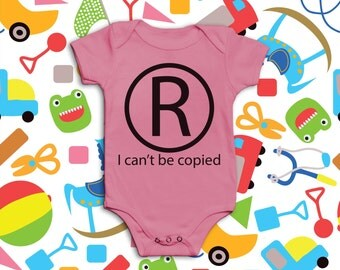 Funny Baby Grow - I Can't Be Copied