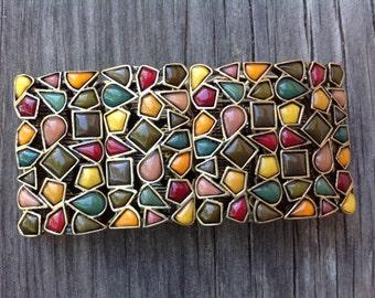 Kiam Family Cuff Bracelet Autumn Colors