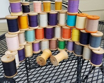 Big collection of Belding Corticelli thread
