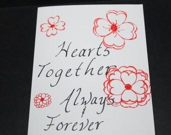 Love Cards, Handmade Cards, OOAK Card, OOAK Cards, Anniversary Cards, Cards, Anniversary Card, Greeting Card, Greeting Cards, Cards Love