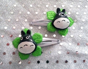 Pair of My Neighbour Totoro Hair Clips (2pcs)