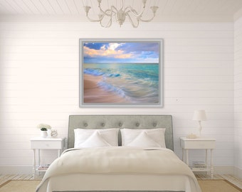 Beautiful Bermuda ~ Bermuda, Long Bay Beach, Pink Sand, Artwork, Beach Photography, Wall Art, Coastal, Home Decor, Ocean, Seascape, Tropical