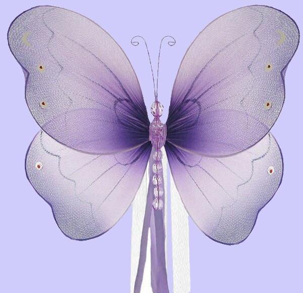 Butterfly Curtain Tieback Brianna Butterfly Purple