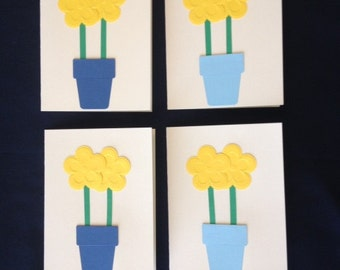 Flower Card, Thinking of you card