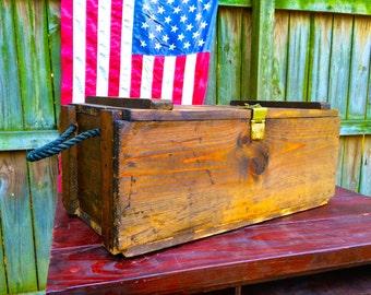 Vintage Locking Ammo Box Storage & Vintage ammo box   Etsy Aboutintivar.Com