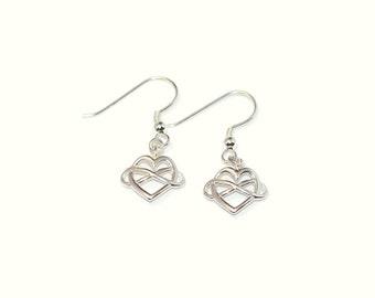 Polyamory earrings