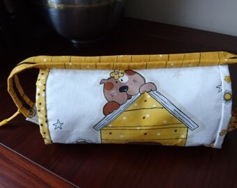 Pen and pencil case, sew together zipper bag