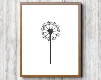 Dandelion 8 x 10 Printable
