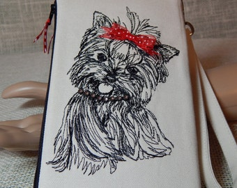 CLOSEOUT SALE!!!!   Yorkie Lovers/Wristlet Wallets/Gifts for Her/Handmade in USA