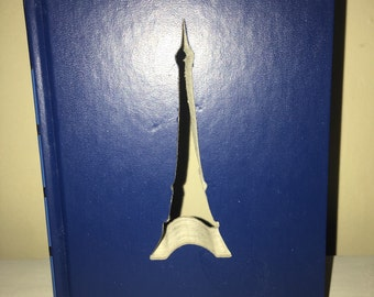 Hardcover Reader Digest Book with the Eiffel Tower Cut Out!  Custom Made Just for YOU!!