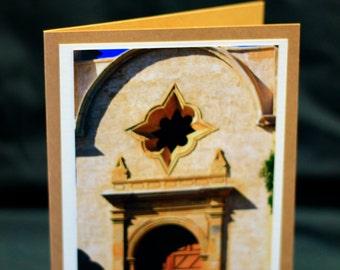 "All occasion photo card  ""Carmel Mission"" ""Carmel, California"""