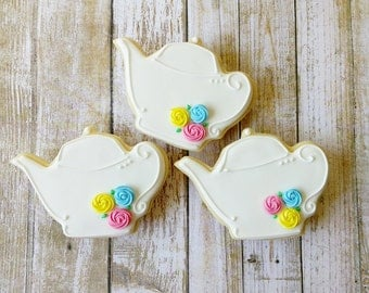 Teapot sugar cookies(12)