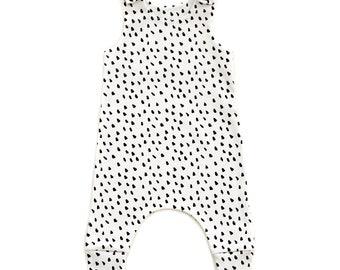 Dalmatian Organic Cotton Baby Romper