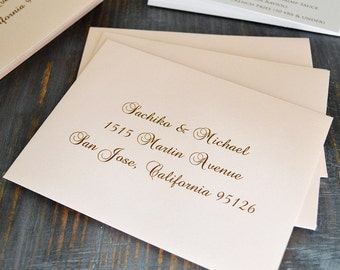 Envelope Addressing   Digital Calligraphy For Wedding Invitation Envelopes    RSVP Envelopes   Custom Fonts Available
