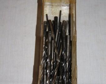 Vintage 1970's - Drill Bit assortment of 40- Tools
