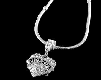 Fire wife necklace Fire wife necklace Fire wife Gift Fire wife gift Fire wife jewelry Fire wife charm Jewelry