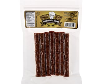 Burly Babe Gourmet Beef Sticks Three 3 oz packages