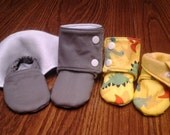 Babies' Stay On Booties