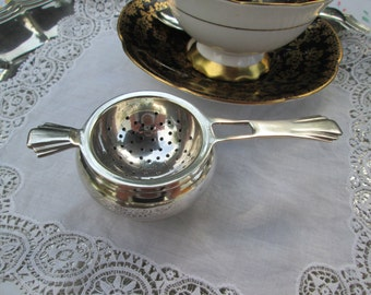 Art Deco Tea Strainer