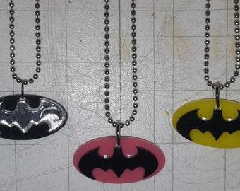 Superhero Necklace-Batman, Superman, Captain America, Spiderman, Robin