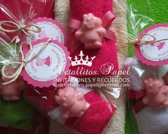 Peppa Pig Favors, Peppa Pig Soap Favors soaps 30