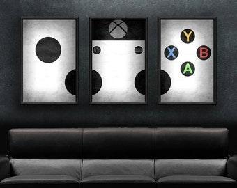 "Xbox Art -  18"" x 36"" Xbox One Print Set"