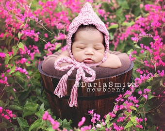 Digital Backdrop Pink Flower Field Bucket Prop Scene Newborn Baby Photography