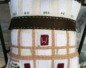 Farmhouse Felt House Pillow : Custom Order for Hannah