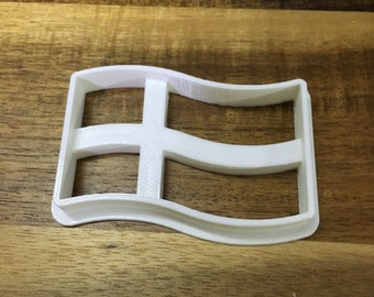 Sweden Flag 3D Printed Cookie Cutter