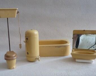 Vintage / / old Bath / / set of furniture / / 1930/40 / / wood