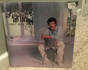 Sealed Lionel Richie Can't Slow Down LP Vinyl Record