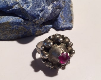Middle Eastern Vintage  Ring-Size 10-Vintage Ring-handmade Ring-Vintage collectible Ring Kochi Jewelry....