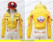 Final Fantasy XV Cindy Cosplay Jacket with Hat yellow featured image