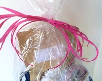 Rose Gift Basket, Spa gift Basket, Medium