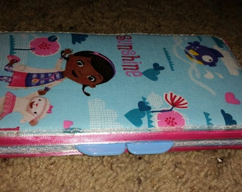 Doc McStuffin diaper wipe case