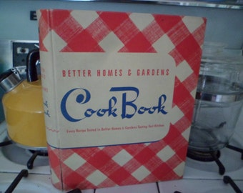 Vintage 1941 Better Homes and Gardens Cook Book 5-Ring Binder