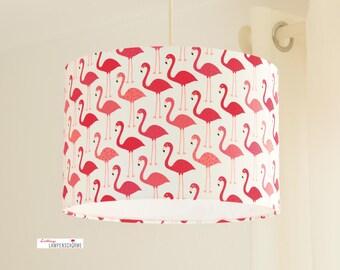 Lampshade, Kids Lamp, flamingos