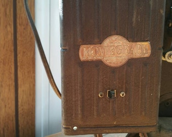Vintage Moviegraph 16mm Projector. Model # E742