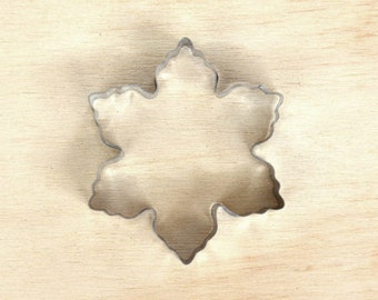 Snowflake Cookie Cutter//snowflake shape cookie cutter//christmas decoration//clay cutter _ stainless steel