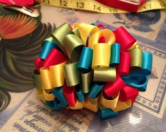 large ribbon bow